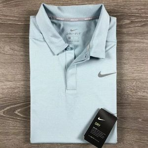 Men's Large Nike Golf Dri-Fit Athletic Polo Shirt